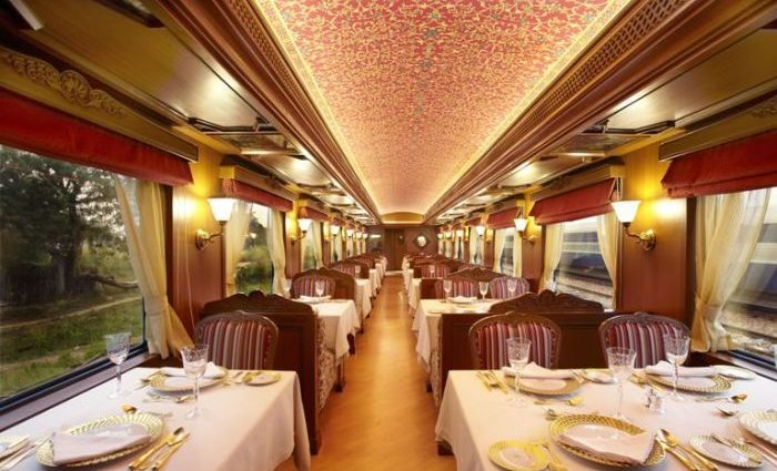 Enjoy the Royal Lifestyle with Maharajas Express Luxury Train
