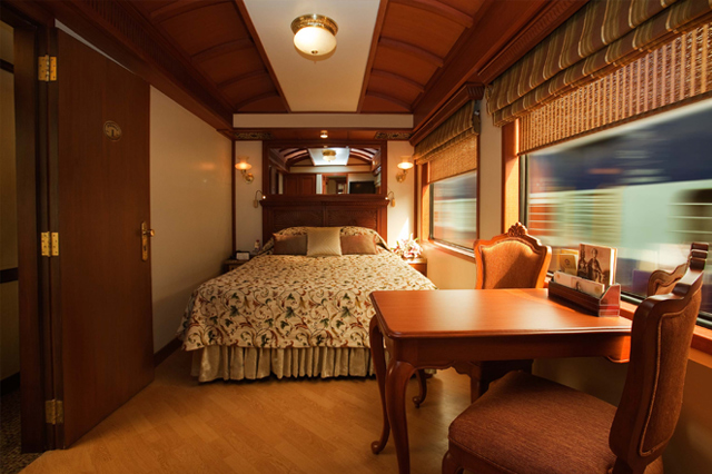 Maharajas Express - The Junior Suite on board the Maharajas Express